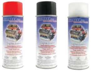 Pioneer Automotive Products - Pioneer Engine Spray Enamel - 11 oz. - Lo-Gloss Black