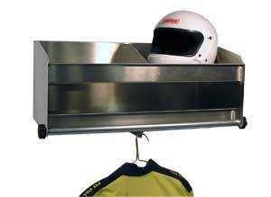 Pit Pal Products - Pit Pal Deluxe 2 Bay Helmet Shelf