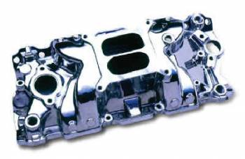 Professional Products - Professional Products SB Chevy Typhoon Intake Manifold - Satin