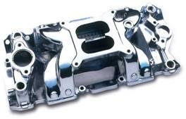 Professional Products - Professional Products SB Chevy Crosswind Vortec Intake Manifold - Satin