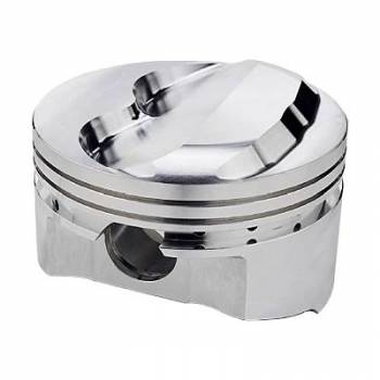 "Sportsman Racing Products - SRP Performance Forged Domed Piston Set - SB Chevy - 4.155"" Bore, +9cc Dome Volume"