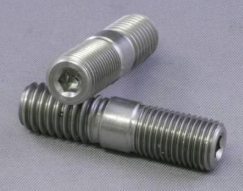 """Mettec - Mettec Titanium Header Stud - 3/8"""" x 1-1/8"""""""