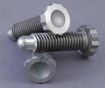 "Mettec - Mettec Titanium Wide 5 Front Wheel Stud - 3/8"" x 16 x 1-1/4"" - 12 Pt. Star Head - Bullet Nose"