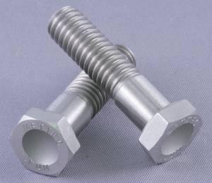 """Mettec - Mettec Titanium 1/4""""-20 x 5/8"""" Hex Head Bolt"""
