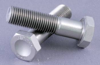 """Mettec - Mettec Titanium 1/4""""-28 x 5/8"""" Hex Head Bolt"""