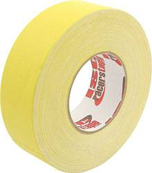 "ISC Racers Tape - ISC Racers Tape Gaffers Tape 2"" x 180 Ft - Yellow"