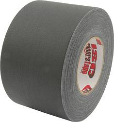 "ISC Racers Tape - ISC Racers Tape Gaffers Tape 4"" x 180 Ft - Black"