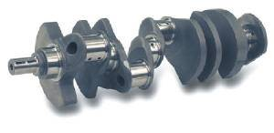 "Scat Enterprises - Scat 4340 Forged Crankshaft - SB Chevy 400 - 3.875"" Stroke - 6.000"" Rod Length - 2.100"" Rod Journal"