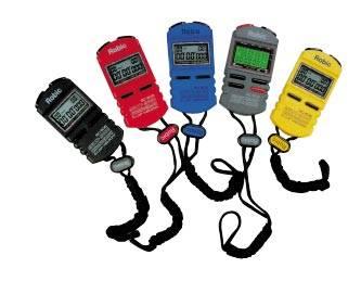 Robic - Robic 505 Stopwatch - 5 Lap Memory - Black