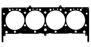 "Fel-Pro Performance Gaskets - Fel-Pro Permatorque MLS Head Gasket - Multi-Layer Steel - SB Chevy2 - 4.200"" Bore - .041"" Comp. Thickness - Outboard Cooling"