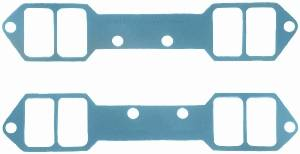 "Fel-Pro Performance Gaskets - Fel-Pro Intake Manifold Gasket Set - Steel Core Laminate - SB Chevy w/ 18° Heads - 2.15"" x 1.25"" Port"