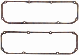 Fel-Pro Performance Gaskets - Fel-Pro Valve Cover Gaskets - Corklam Cork, Rubber w/ Steel Core - SB Ford, Lincoln, Mercury Boss 302, 351CSB, MSB Ford, 400