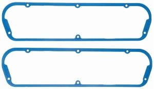 Fel-Pro Performance Gaskets - Fel-Pro Permadryplus® Valve Cover Gaskets - Silicone Molded Rubber w/ Steel Core - SB Ford, Lincoln, Mercury