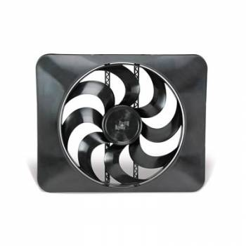 Flex-A-Lite - Flex-A-Lite Black Magic Extreme Electric Fan w/ Adustable Thermostat (160°-240°) - 3300 CFM - Amp Draw: 18