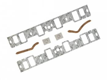 """Mr. Gasket - Mr. Gasket Ford Intake Gasket - 260, 289, 302 Exc Factory HP 1962-76 1/16"""" Thick Stock Port 1.20W x 2.13H."""