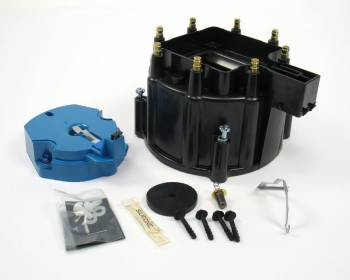 PerTronix Performance Products - PerTronix GM V8 Cap & Rotor Kit - Black