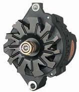 Powermaster Motorsports - Powermaster Delco Race Alternator 100 Amp 12 Volt - 60 Idle, 100 Max. Amps