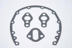 SCE Gaskets - SCE Timing Cover - Water Pump & Fuel Pump Gasket Set - SB Chevy (Except LT1) - Gasket Thickness: .032""