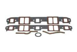 "SCE Gaskets - SCE Accu Seal Pro Intake Gaskets - SB Chevy Medium Port Size: 1.250"" x 2.200"" - Gasket Thickness: .062"""