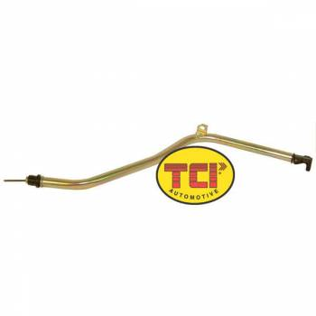 "TCI Automotive - TCI Powerglide Locking Dipstick, Long Style Filler Tube Assembly for Use w/ 1/4"" Mid-Plate"