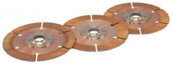 "Tilton Engineering - Tilton Racing Clutch Disc Pack - Sintered Metallic - 7.25"" - 2-Disc -1-1/16"" x 10-Spline - For Use w/ Tilton OT-Series (Sintered Metallic) Racing Clutches"