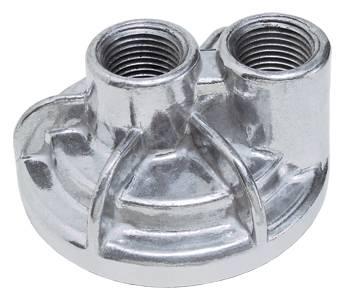 """Trans-Dapt Performance - Trans-Dapt Oil Filter Bypass Adapter - 180° - Ford V8 - Chrysler V8 3/4""""-16 Threads - 2-1/2"""" I.D. and 2-3/4"""" O.D. O-Ring"""