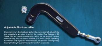 Wehrs Machine - Wehrs Machine Adjustment Aluminum J-Bar 18In-20In
