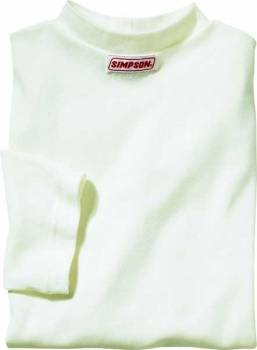 Simpson Race Products - Simpson Soft Knit Nomex® Crew Neck Top - Short Sleeve - 5 0Z