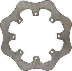 "Allstar Performance - Allstar Performance Late Model 8-Bolt Scalloped Rotor - Solid - .250"" Thick"
