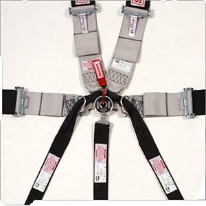 Simpson Race Products - Simpson 7 Point Drag Racing Camlock Restraint System - Pull Up, Bolt In or Wrap Around Lap Belt - Short Sewn Lap Belt - Individual Shoulder Harness