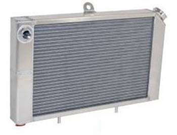 "Saldana Racing Products - Saldana Mini Sprint Radiator - Cage Mount - 12"" Tall x 17-3/4"" Wide - 3/4""NPT Inlet, Outlet"