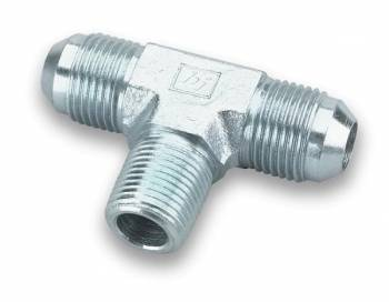 """Earl's Performance Products - Earl's Steel Male AN -03 AN to 1/8"""" NPT On Side Tee Adapter"""