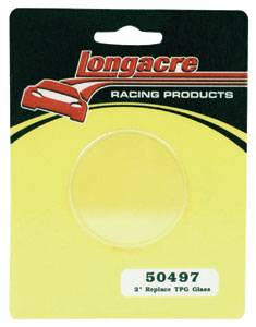 """Longacre Racing Products - Longacre 2"""" Replacement Glass for Longacre Tire Gauges"""