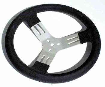 "Longacre Racing Products - Longacre 13"" Kart Steering Wheel - Black"