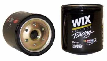 "Wix Filters - WIX Performance Oil Filter - Chevy - 4.330"" Height x 3.600"" Diameter - 13/16""-16 Thread - No By-Pass"