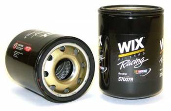 "Wix Filters - WIX Performance Oil Filter - Remote Mount - 5.900"" Height x 4.200"" Diameter - 1-1/2""-16 Thread - 18-"