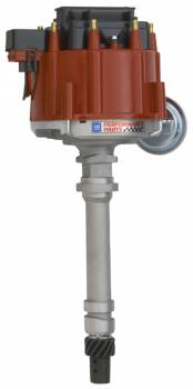 Proform Performance Parts - GM Performance HEI Distributor w/ Coil - Adjustable Vacuum Advance - Red Cap