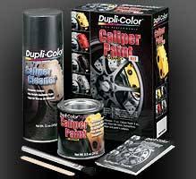 Dupli-Color - Dupli-Color® Brake Caliper Brake Kit - Red