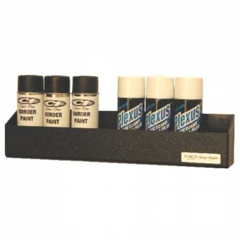 Clear 1 Racing - Clear One Aerosol Can Shelf - Holds 12 Cans