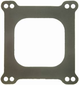 "Fel-Pro Performance Gaskets - Fel-Pro Carburetor Mounting Gasket - Paper - Holley 4-Barrel - Square Bore - Open Center - 1-3/4"" Thick"