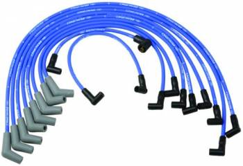 Ford Racing - Ford Racing 9mm Spark Plug Wire Set - SB Ford 5.0, 5.8L V-8 Engine - Blue - 45° Boot