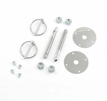 "Mr. Gasket - Mr. Gasket Hood Pin Kit - 7/16"" - Torsion Clip"