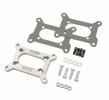 Mr. Gasket - Mr. Gasket Aluminum Carburetor Adapter - Converts Holley 2 BBL to Rochester 2 BBL Intake Manifold
