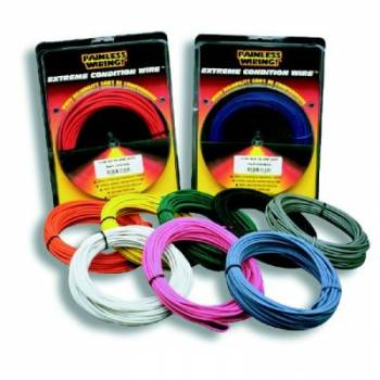 Painless Performance Products - Painless Performance 14 Gauge White TXL Wire - 50 Ft.
