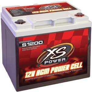 XS Power Battery - XS Power Performance AGM Battery - 12 Volt Starting