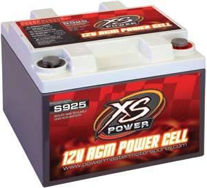 XS Power Battery - XS Power Performance AGM Battery - 12 Volt Starting