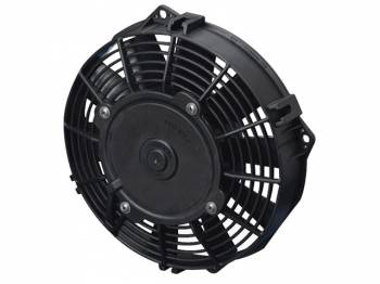 "SPAL Advanced Technologies - SPAL 7.5"" Straight Blade Low Profile Fan, 12V Pusher - 440 CFM"