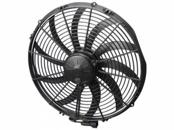 "SPAL Advanced Technologies - SPAL 16"" Curved Blade Extreme Performance Fan, 12V Puller - 2315 CFM"