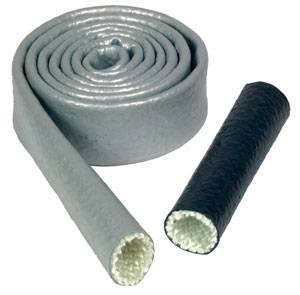 """Thermo-Tec - Thermo-Tec Heat Sleeve - 1"""" x 3 Ft. - Silver"""