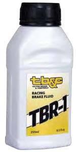 Tilton Engineering - Tilton TBR-1 Brake Fluid for Racing Applications - 250ml Bottle